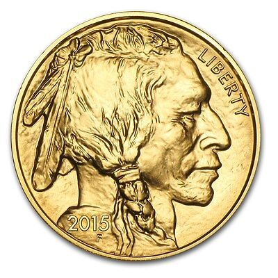2015 1 oz Gold American Buffalo Brilliant Uncirculated - SKU #87711