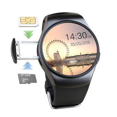 Bluetooth Smart Wrist Watch SIM GSM Phone Watches For Android iPhone Samsung Men