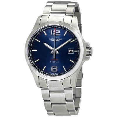 Longines Conquest V.H.P. Quartz Blue Dial Men's Watch L3.726.4.96.6
