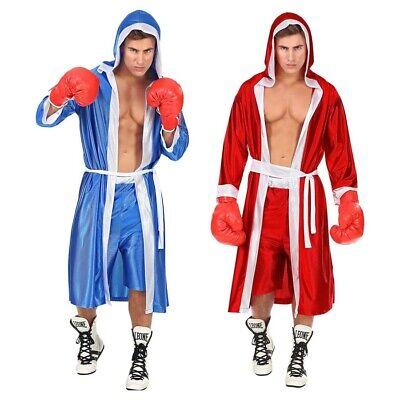 # Sportler Boxer Kostüm Umhang Mantel Short Verkleidung 3527 (Sportler Kostüm)