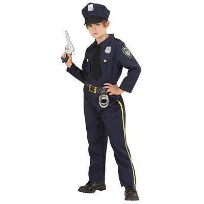 HUT KINDER Karneval Fasching Polizei Uniform Jungen  # 7655 (Kind, Polizei-uniform)