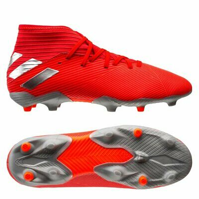 adidas Nemeziz 19.3 FG 2018 Soccer Shoes Cleats Kids - Youth Red -White -