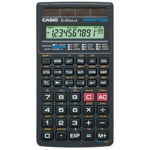 Wissenschaftlicher Taschenrechner CASIO FX-82 Solar 144 Funktionen Schulrechner