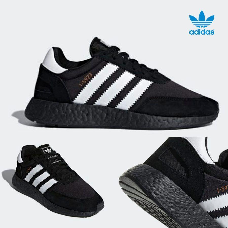 Adidas Original I-5923 Iniki Runner Boost Shoes Black White CQ2490 SZ 4-13