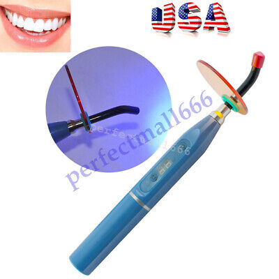 Us Dental 5w Wireless Cordless Led Curing Light Lamp 1500mw Sliver Hot Sale