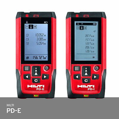 Hilti Pd-e Laser Range Meter Distance Measurer Ip65 -1.0mm Accuracy Pd42 Fedex