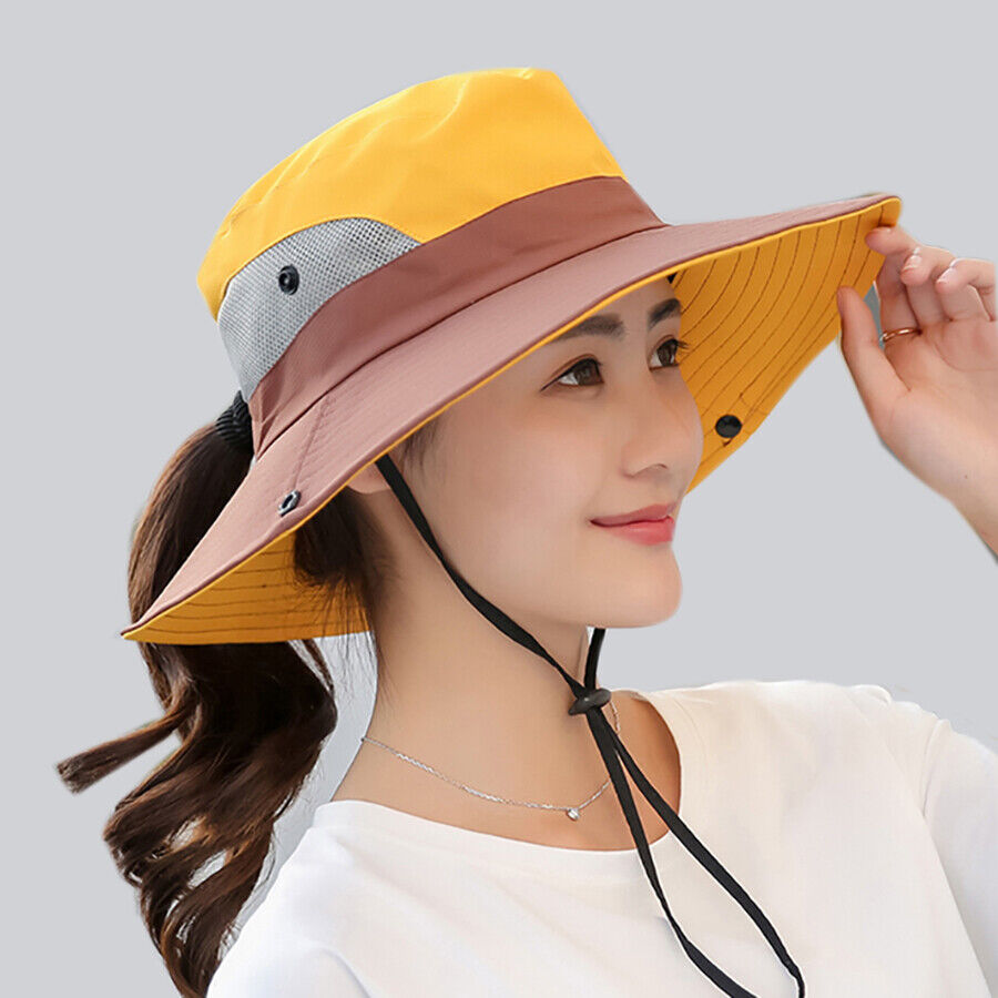 363a7f9cf Details about Safari Hat With Ponytail Hole____FREE SHIPPING