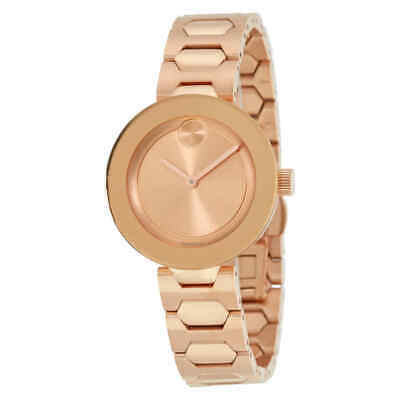 Movado Bold Rose Dial Unisex Watch 3600387