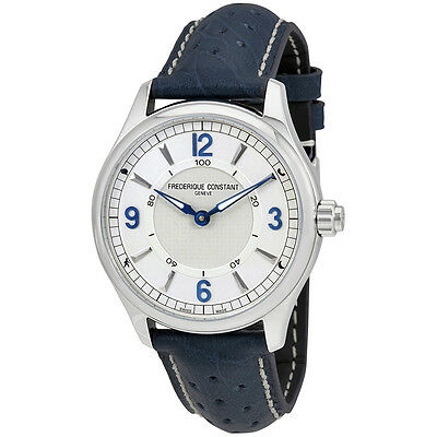 Frederique Constant Horological Silver Dial Mens Smart Watch FC-282AS5B6