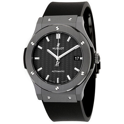 Hublot Classic Fusion Black Ceramic Mens Watch 511.CM.1771.RX