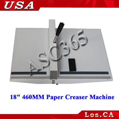 18 460mm Scoring Paper Creasing Machine Scorer Creaser With 2magnetic Block