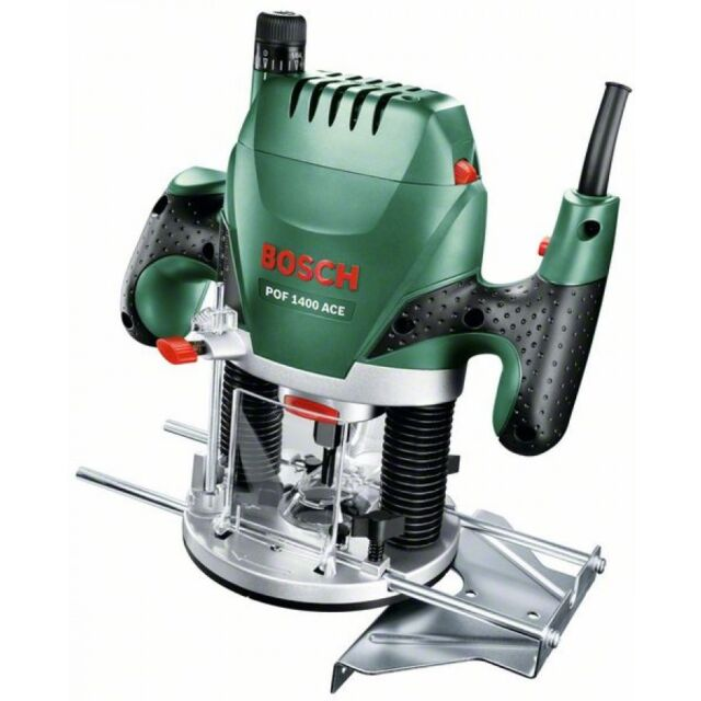 Pof 1400 ace router 060326c870 3165140451697 by bosch ebay bosch pof1400ace 14 8mm plunge router 1400w greentooth Images
