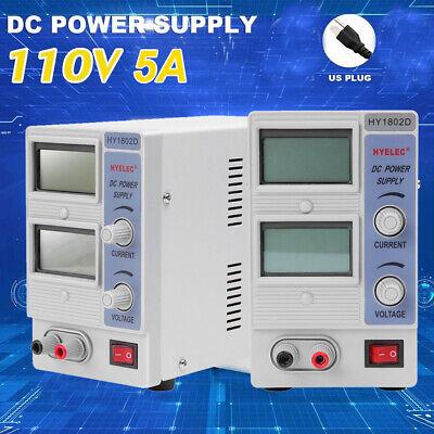 30v 5a Dc Bench Power Supply Precision Dual Digital Adjustable Grade Test Sw