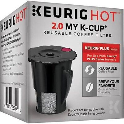 Keurig 2.0 My K-Cup Reusable Holder Filter for K250 K475 K425 K575 K300 K550 NEW