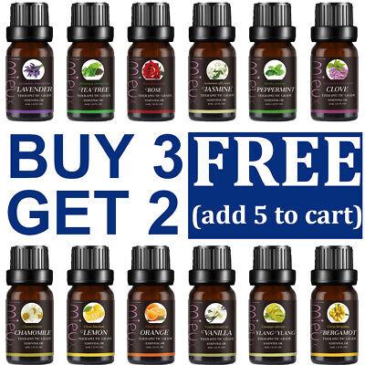 Aromatherapy Essential Oils Pure Organic Essential Oil Fragrances Diffuser 10ml