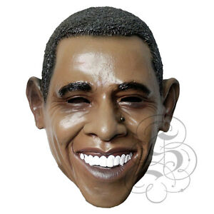 Latex Famous American President Obama High Quality Fancy Dress Up Party Masks