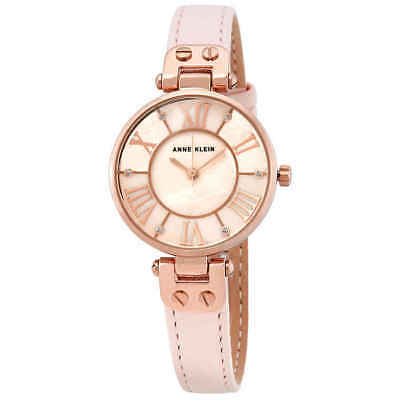 Anne Klein Pink MOP Dial Ladies Watch 2718RGPK