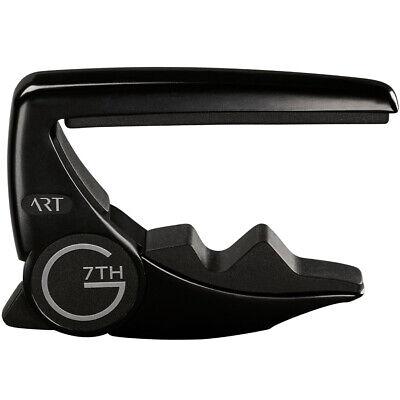 G7th Performance Guitar Capo - G7th Performance 3 6 String String Adaptive Radius Guitar Capo - Black, New!