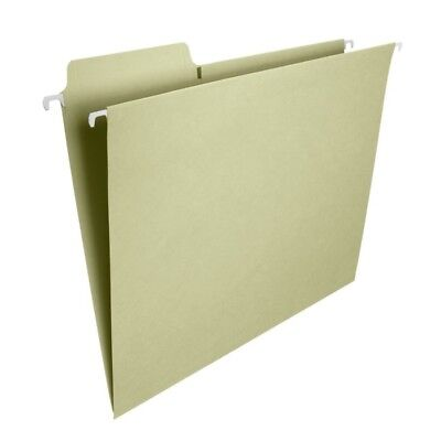 Smead Fastab Hanging File Folders Letter Size Moss Pack Of 20