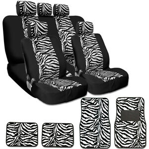 Tiger Print Seat Covers Ebay