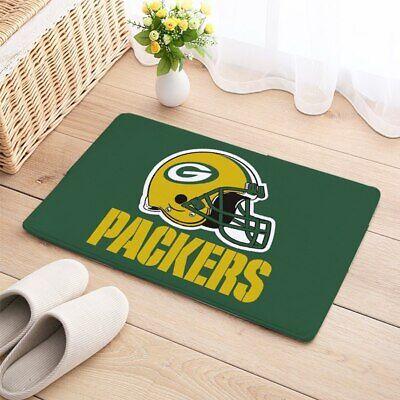 Green Bay Packers Floor Mat - Green bay Packers Carpet Mat Cotton Floor Door Home House Anti Slip football