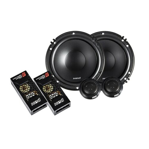 """New Cerwin Vega XED650 6.5"""" Component Car Speakers 6-1/2"""" Tweeters Crossovers"""