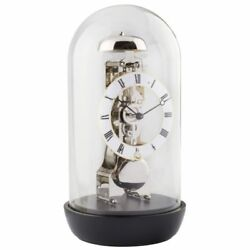 Hermle 23019-740791 Black Finish Skeleton Table Clock