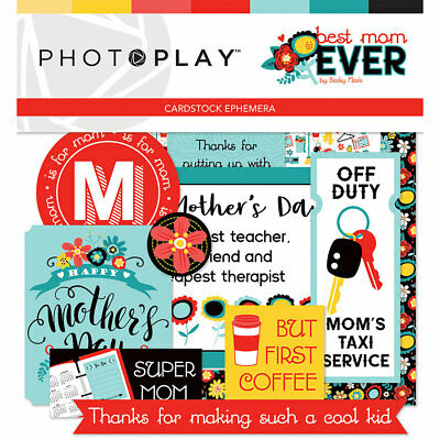 Scrapbooking Crafts Die Cuts Best Mom Ever Super M Keys Taxi Mother's Day Team (Mother's Day Crafts)