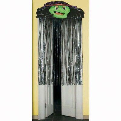 HEXEN FADENVORHANG Halloween Eingang Türvorhang Vorhang Kinder Party - Kinder Halloween Party