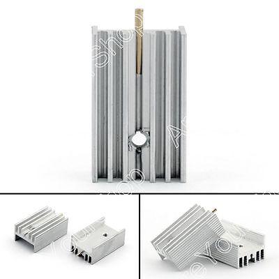 40pcs Heat Sink Cooler 15x10x25mm Radiator For Power Cpu Transistormosfetic Us