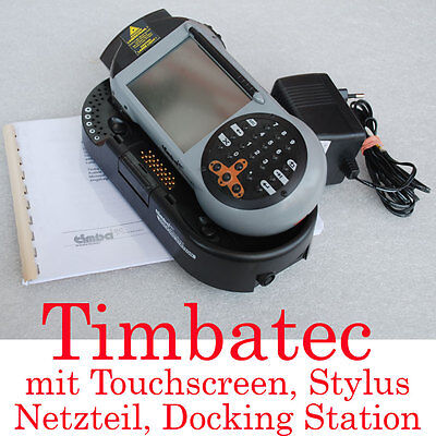 TIMBATEC PDA POCKET PC TOUCHSCREEN DOCKING STATION WINDOWS CE LASERSCANNER TOP! Windows Ce Touch Screen