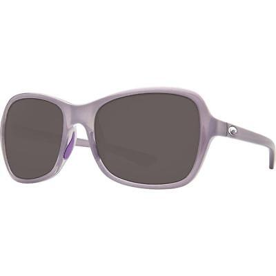 9c680a3fb1 New Costa del Mar KARE Polarized Sunglasses Sea Lavender Crystal Grey 580P  Women