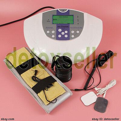 Fuß Detox Ionen-Foot Bath Spa Zelle reinigen & Therapie Massage Pad Fir Belt