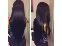 8A Grade Virgin Hair with Half off install and custom Wig