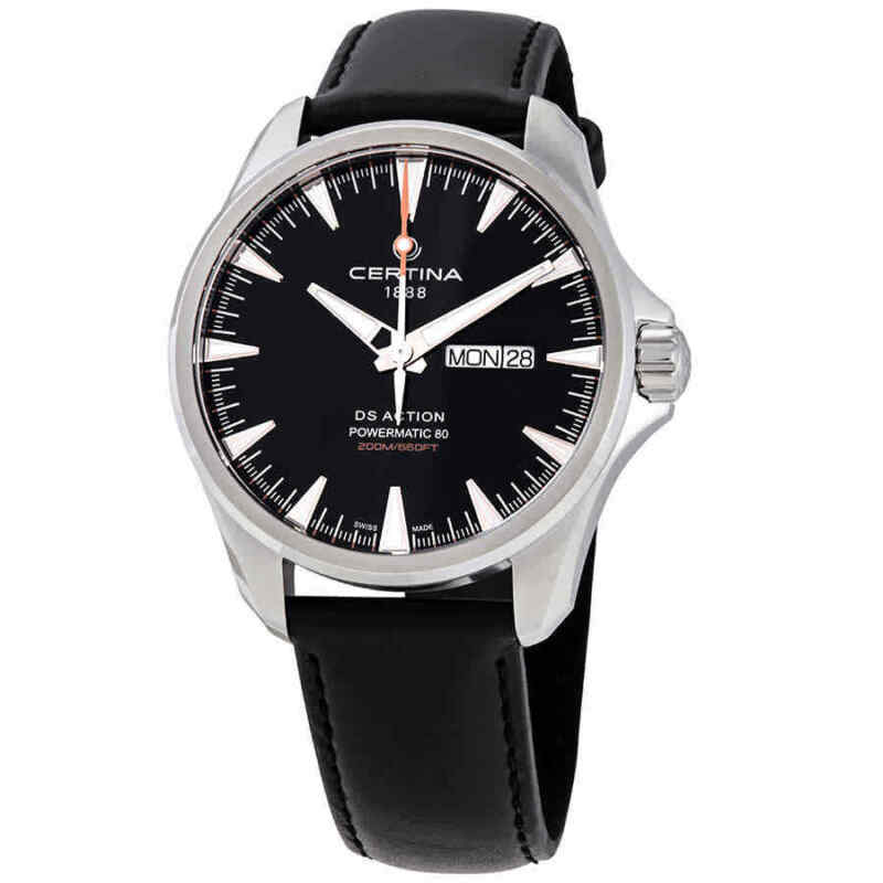 Certina DS Action Day-Date Automatic Black Dial Men Watch C032.430.16.051.00