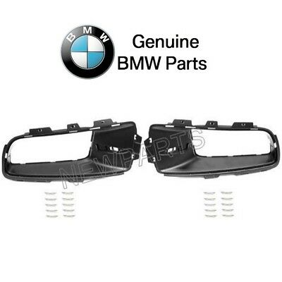 For BMW E70 X5 2007-2010 Front Lower Left & Right Bumper Trims Kit Genuine