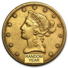 $10 Liberty Gold Eagle XF (Random Year) - SKU #160047