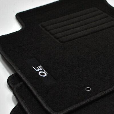 Velours Edition Fußmatten für Hyundai i30 FD Schrägheck ab Bj.2007-2012 blau
