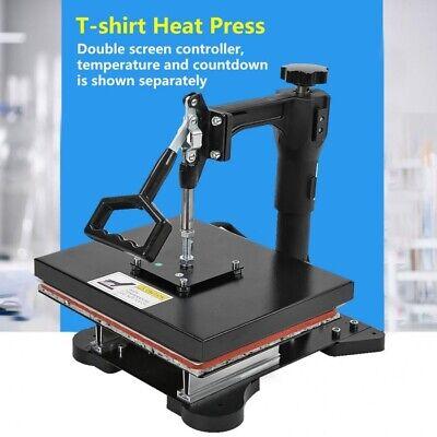 Heat Press Machine T-shirt Digital Sublimation Heat Transfer Printer 12x10