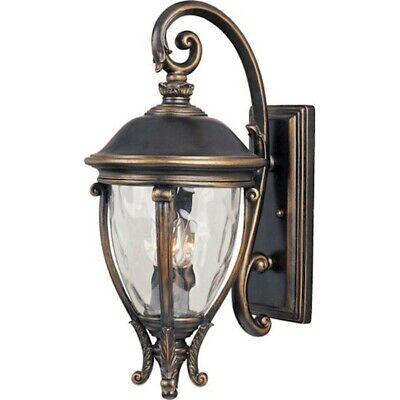 - Maxim Camden VX 3-Light Outdoor Wall Lantern Golden Bronze - 41425WGGO
