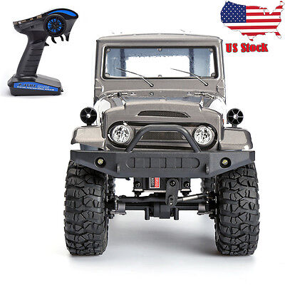 1/10 Scale Electric 4wd Off Road Rock Crawler Rock Cruiser Climbing ​Rc Car_US