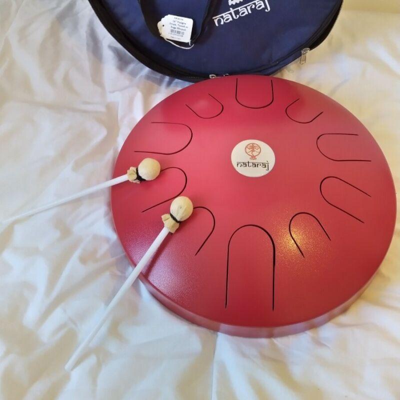 Nataraj AP-T16 16inch Tongue Drum, Raga Bhopali Scale - Used once, Bag & Beaters