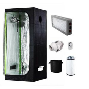 Indoor growing kit - grow tent - hydroponic - LED GROW LIGHT
