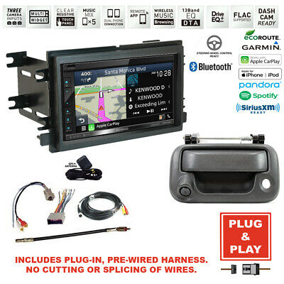Plug-In Kenwood GPS Navigation Stereo Radio+08-16 SuperDuty Truck Backup Camera