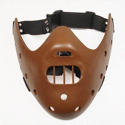 Maske Halloween Mund biss Wächter Kostüm Lector Kannibale (Hannibal Maske Halloween)