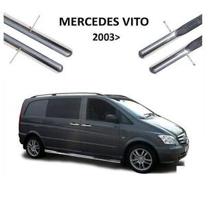 2 marche pied tube inox mercedes vito viano w639 2003 a. Black Bedroom Furniture Sets. Home Design Ideas