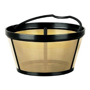 Mr. Coffee GTF2-1 Basket-Style Gold Tone Permanent Filter 201