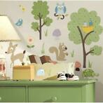 RoomMates Woodland Animals Muurstickers 230604
