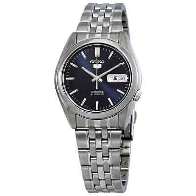 Seiko 5 Automatic Blue Dial Men's Watch SNK357