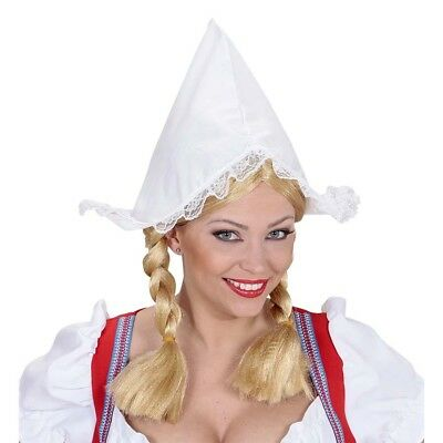 Magd Dienstmädchen Zimmermädchen Haube Hut Kostüm Party 0185 (R Kostüm)